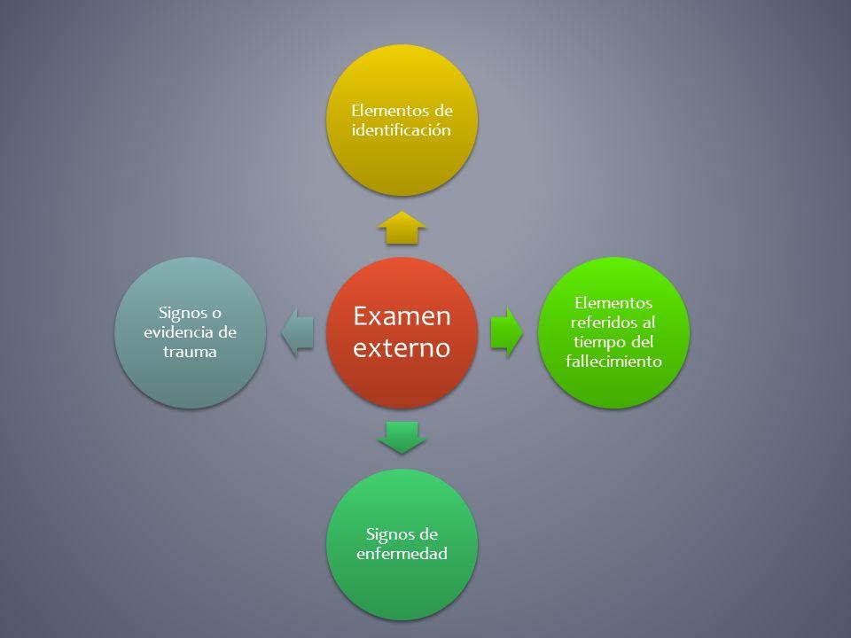 Elementos de identificación