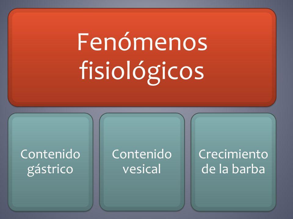 Fenómenos fisiológicos