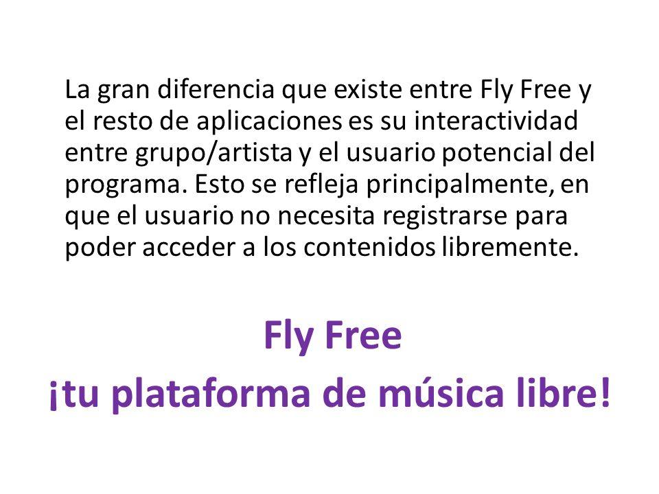¡tu plataforma de música libre!