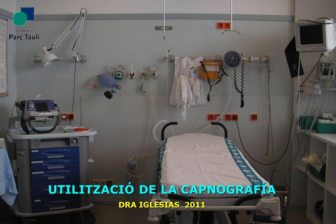 UTILITZACIÓ DE LA CAPNOGRAFÍA