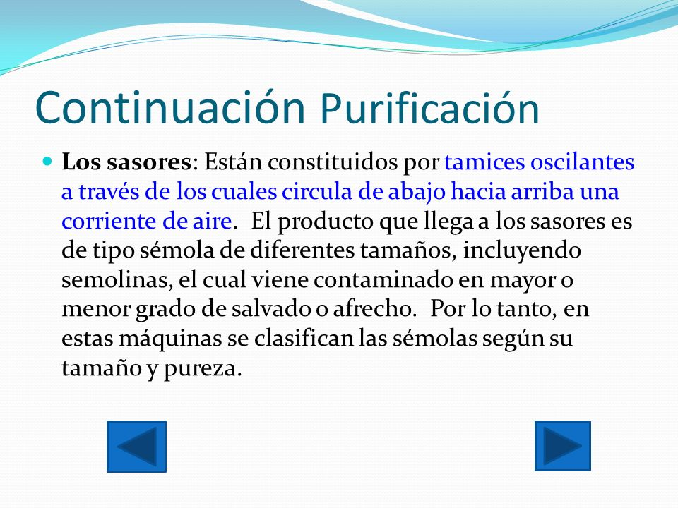 Continuación Purificación