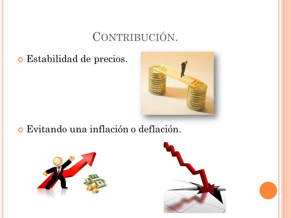 Contribución. Estabilidad de precios.