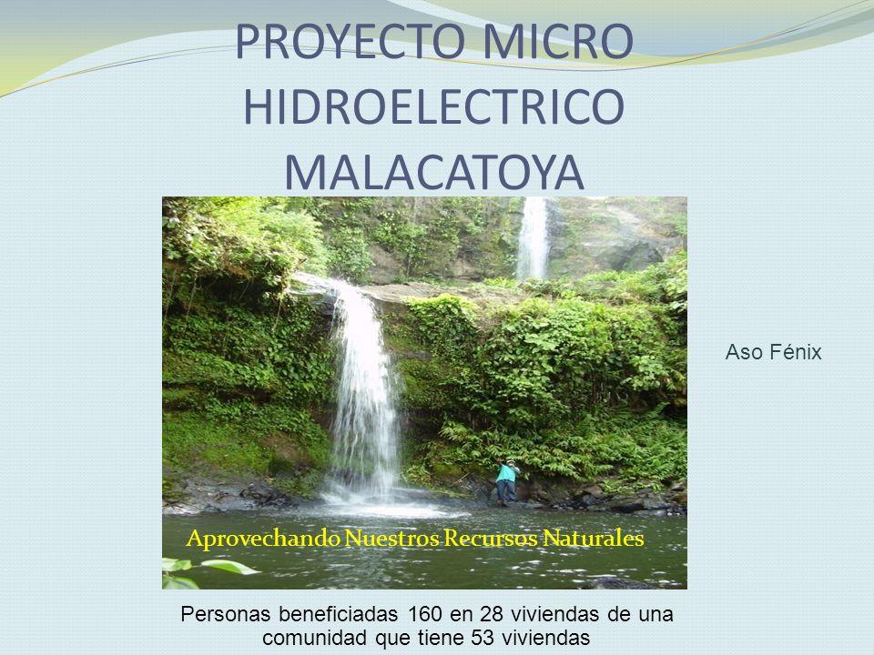 PROYECTO MICRO HIDROELECTRICO MALACATOYA
