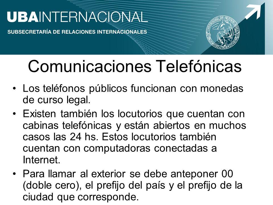 Comunicaciones Telefónicas