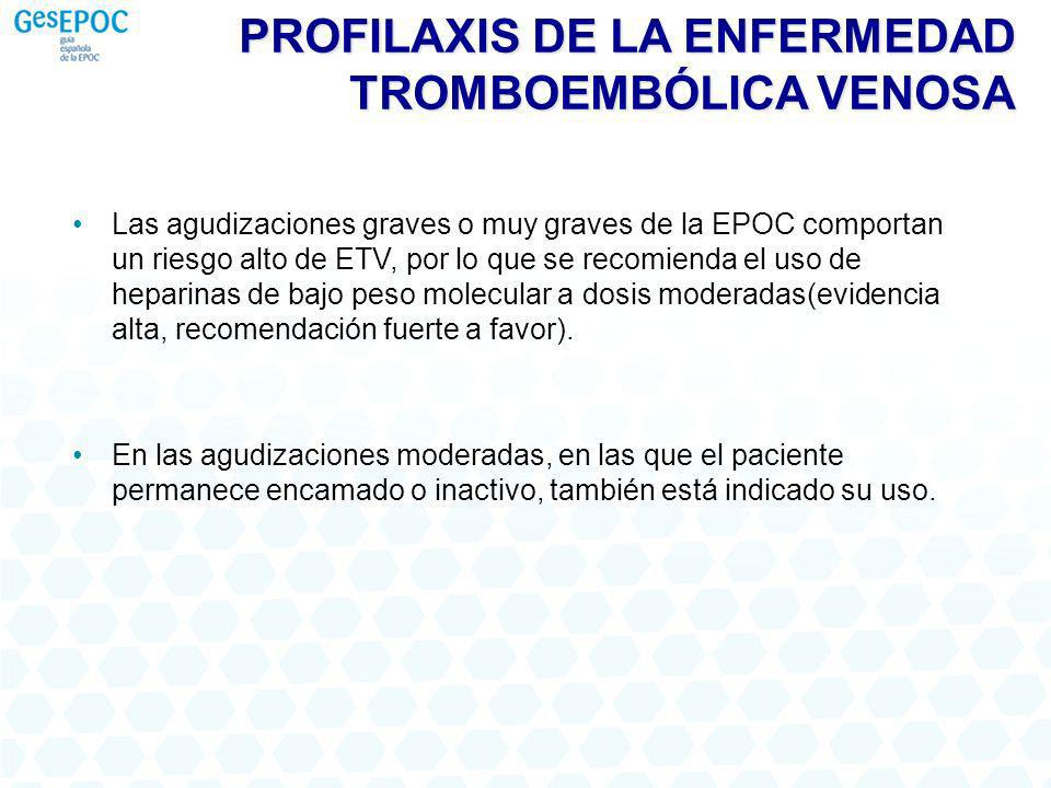 PROFILAXIS DE LA ENFERMEDAD TROMBOEMBÓLICA VENOSA