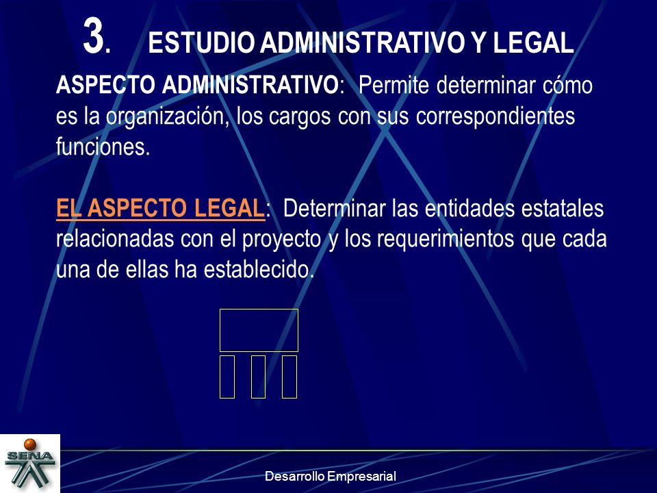 3. ESTUDIO ADMINISTRATIVO Y LEGAL