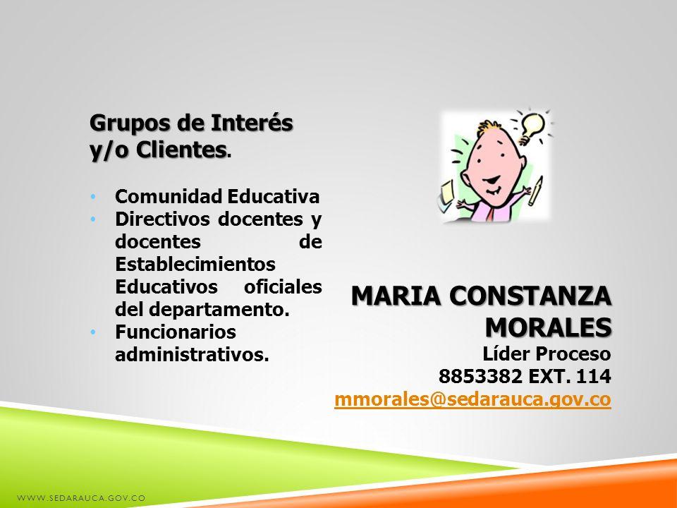 MARIA CONSTANZA MORALES