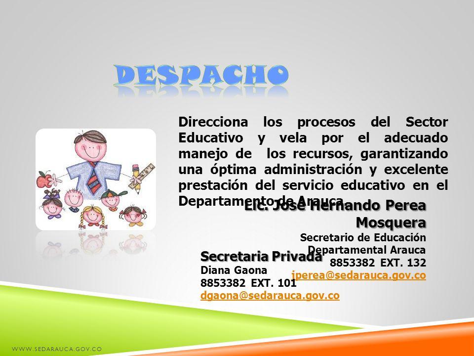 despacho Lic. José Hernando Perea Mosquera