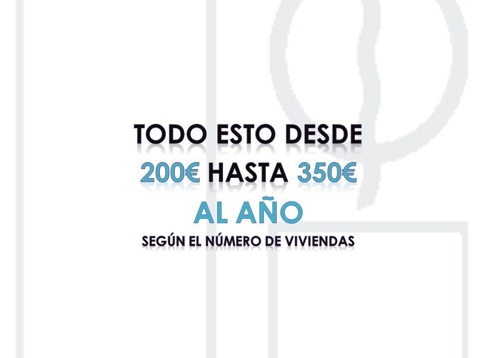 SEGÚN EL NÚMERO DE VIVIENDAS
