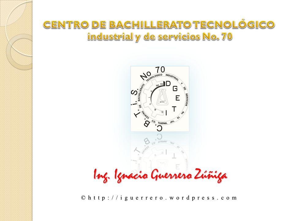 CENTRO DE BACHILLERATO TECNOLÓGICO industrial y de servicios No. 70