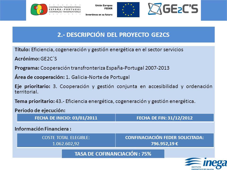 2.- DESCRIPCIÓN DEL PROYECTO GE2CS