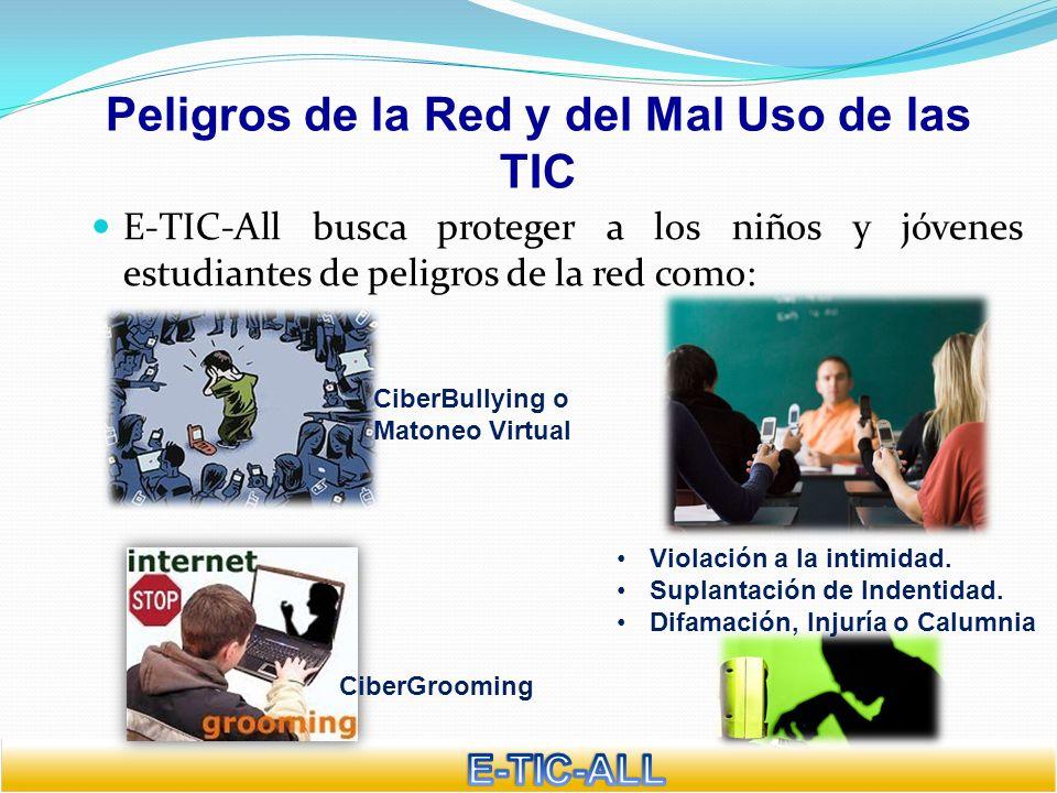 Peligros de la Red y del Mal Uso de las TIC