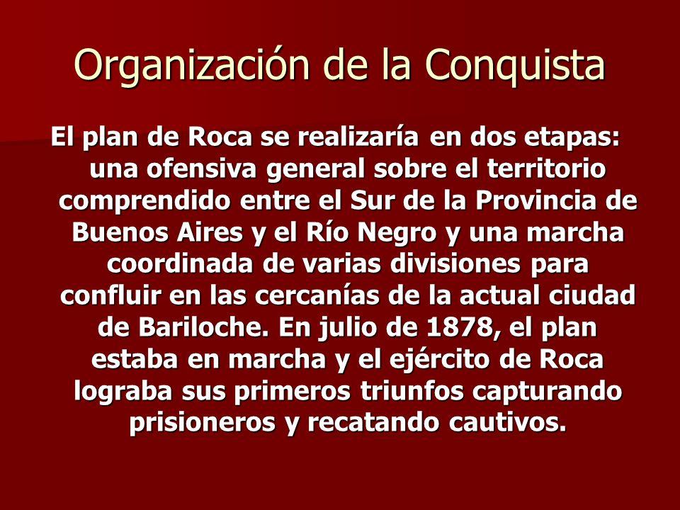 Organización de la Conquista