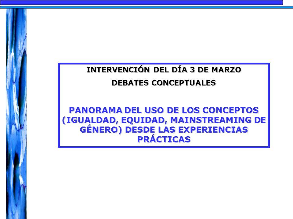 INTERVENCIÓN DEL DÍA 3 DE MARZO