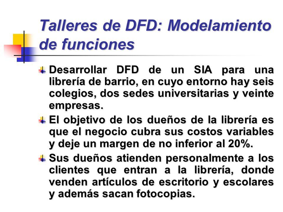 Talleres de DFD: Modelamiento de funciones