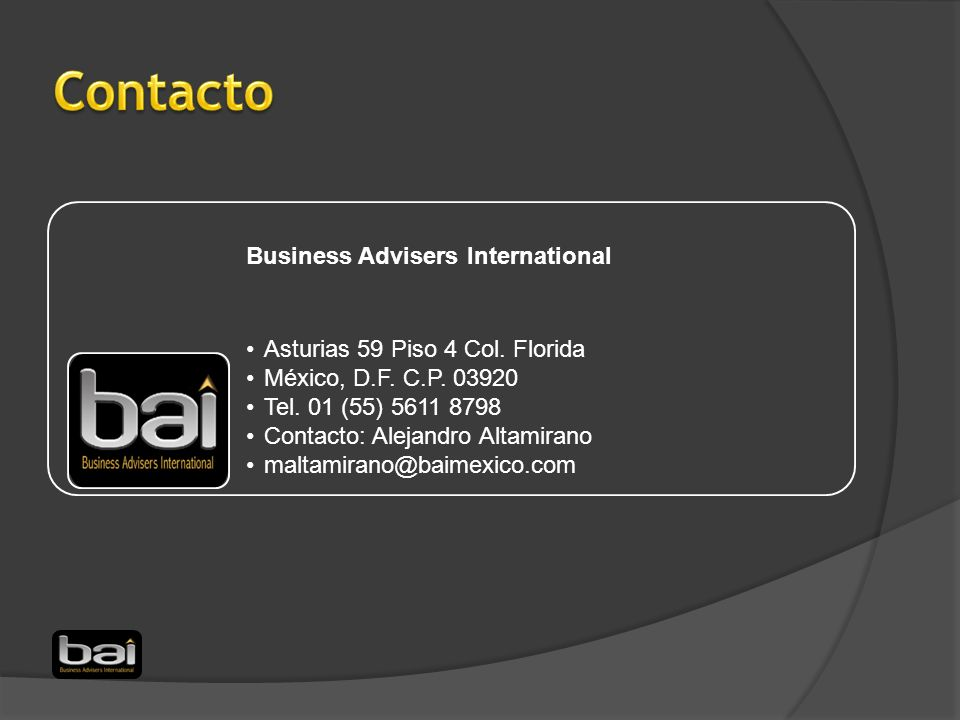 Contacto Business Advisers International