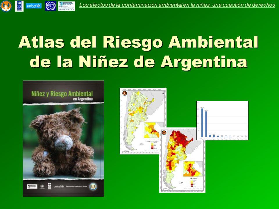 Atlas del Riesgo Ambiental de la Niñez de Argentina