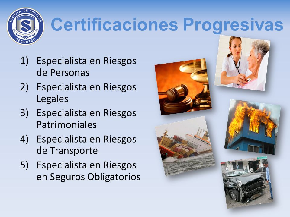 Certificaciones Progresivas