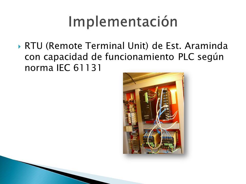 Implementación RTU (Remote Terminal Unit) de Est.