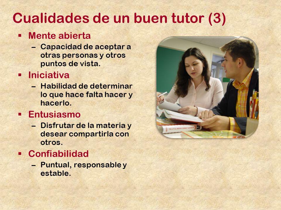 Cualidades de un buen tutor (3)