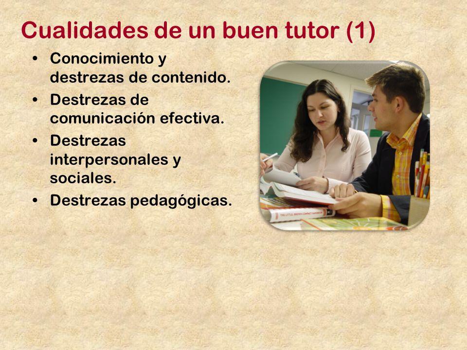 Cualidades de un buen tutor (1)