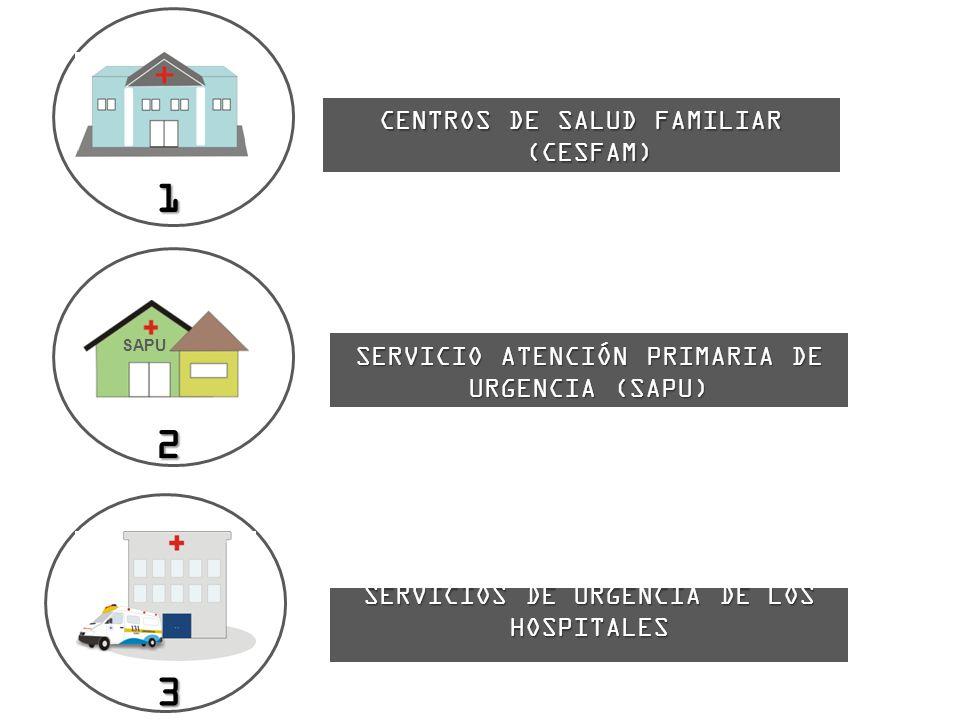 1 2 3 CENTROS DE SALUD FAMILIAR (CESFAM)