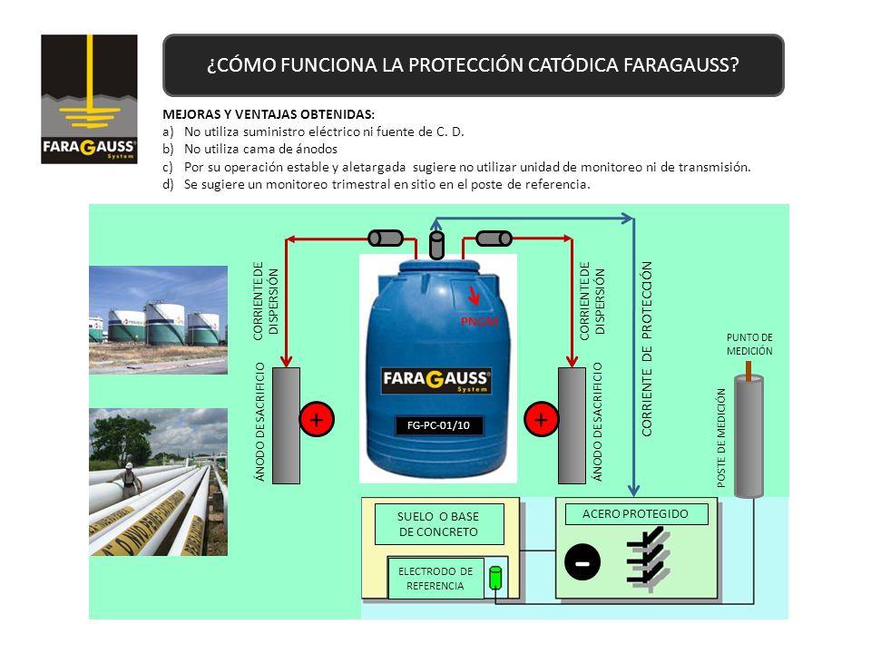 ¿CÓMO FUNCIONA LA PROTECCIÓN CATÓDICA FARAGAUSS