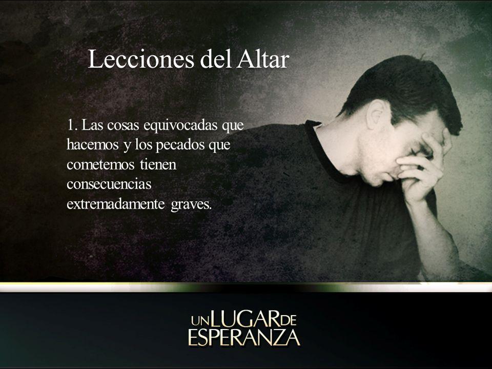 Lecciones del Altar 1.