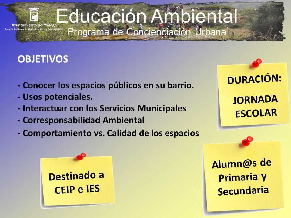 Programa de Concienciación Urbana