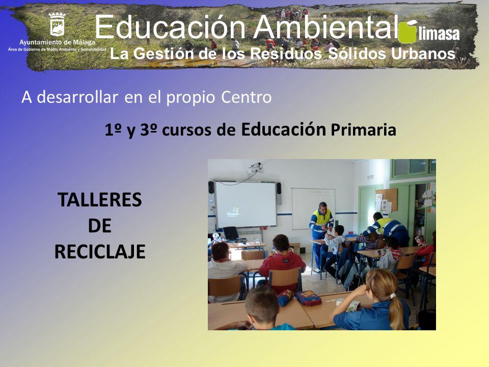 Educación Ambiental TALLERES DE RECICLAJE