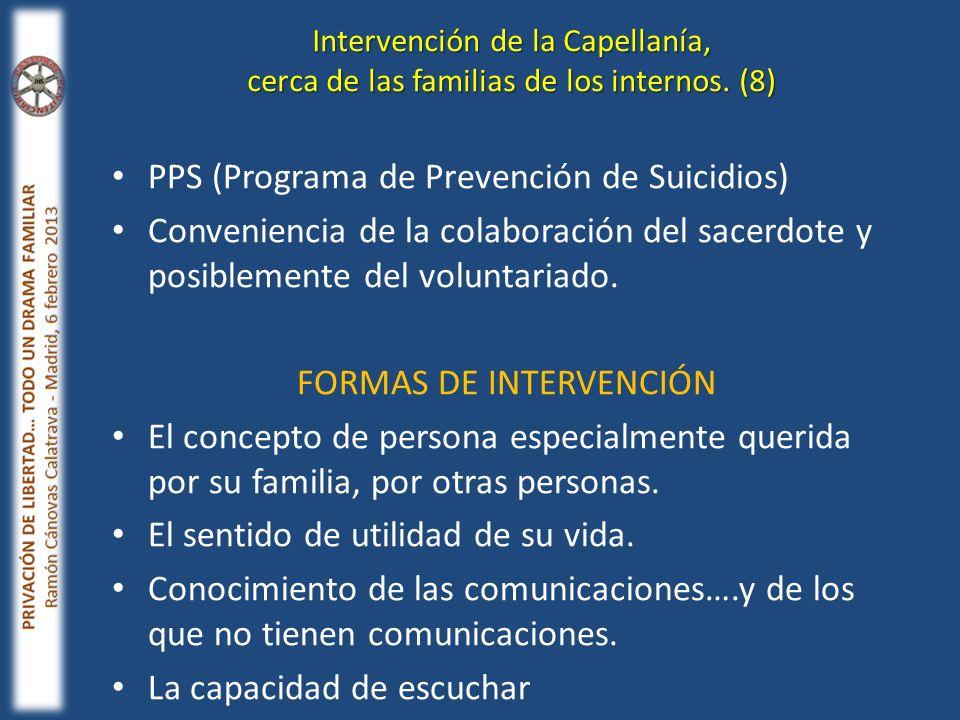 FORMAS DE INTERVENCIÓN