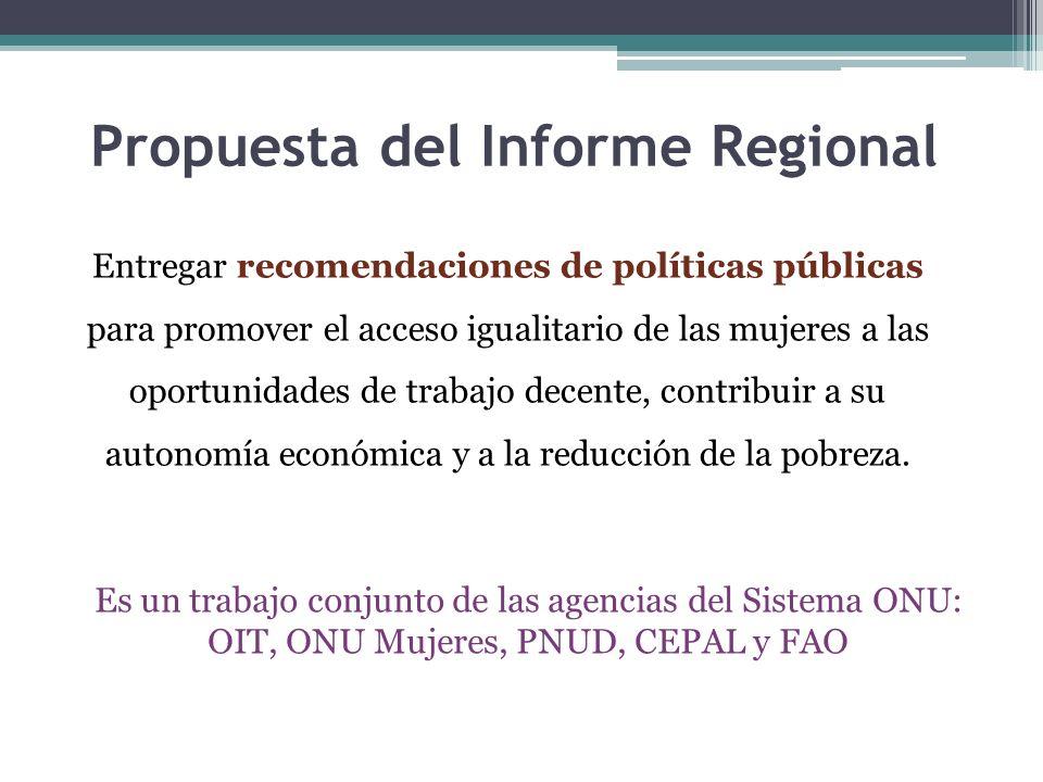 Propuesta del Informe Regional