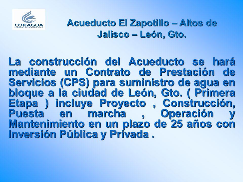 Acueducto El Zapotillo – Altos de Jalisco – León, Gto.