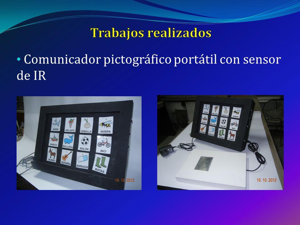 Trabajos realizados Comunicador pictográfico portátil con sensor de IR