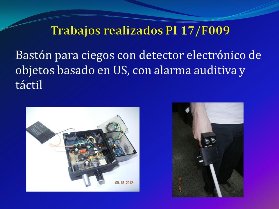 Trabajos realizados PI 17/F009