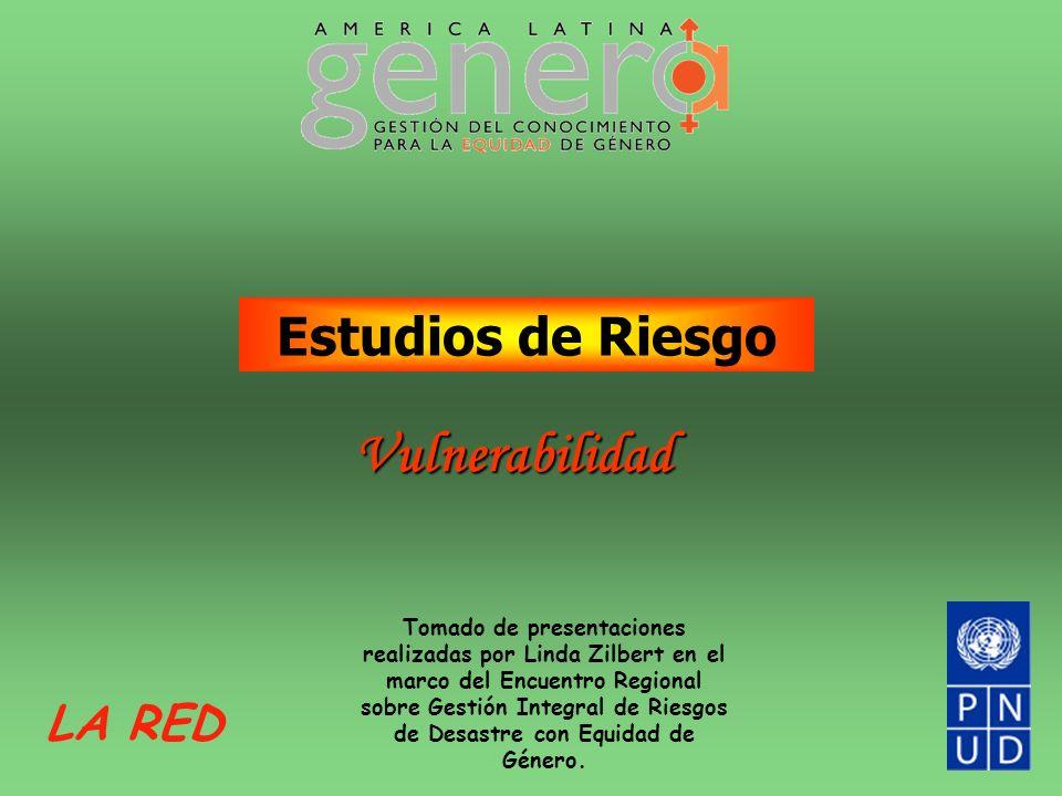 Vulnerabilidad Estudios de Riesgo LA RED