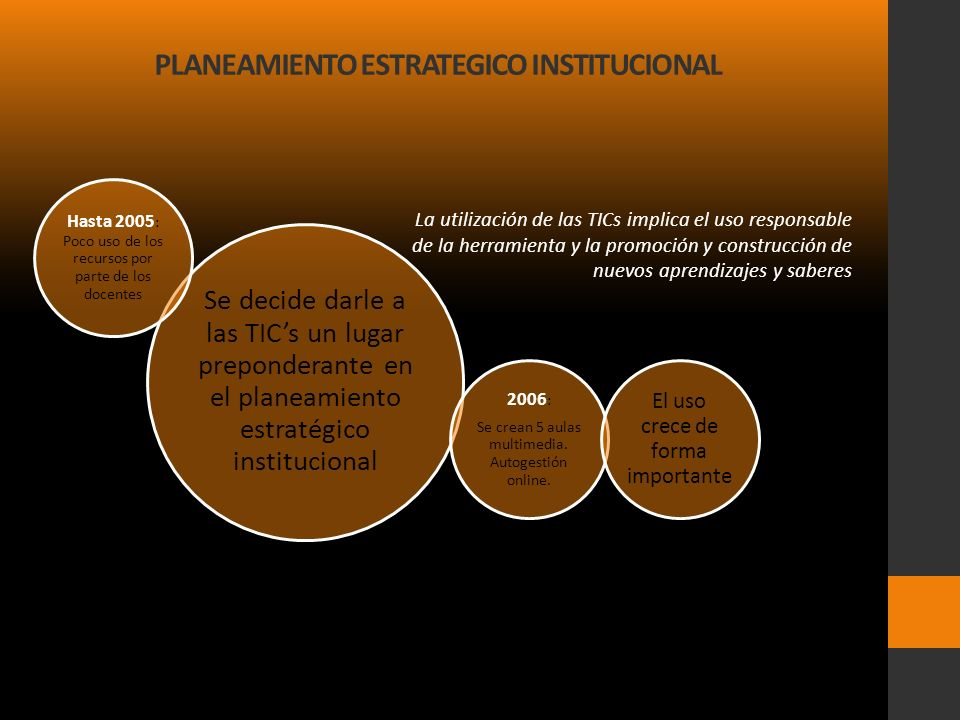 PLANEAMIENTO ESTRATEGICO INSTITUCIONAL