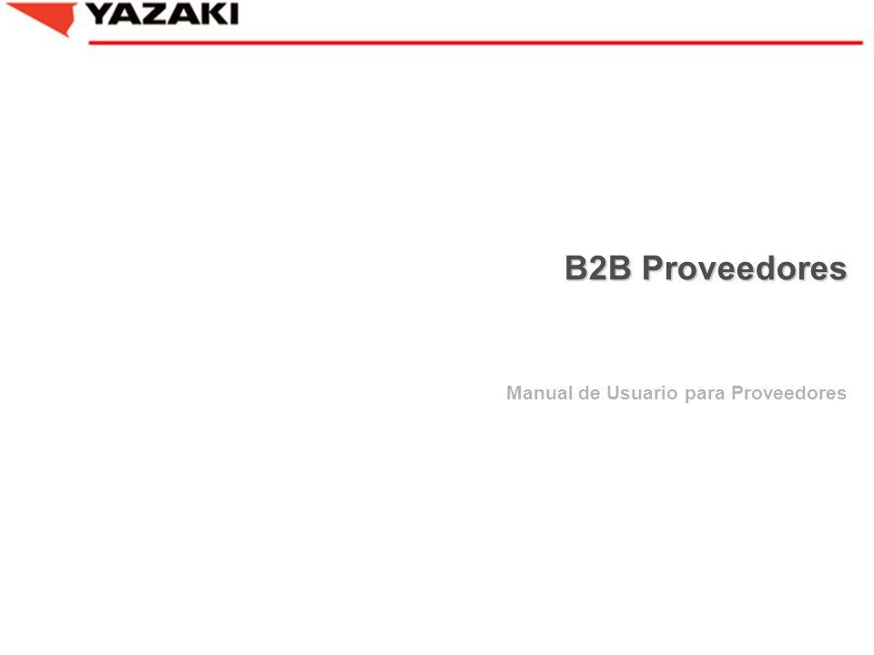 Manual de Usuario para Proveedores