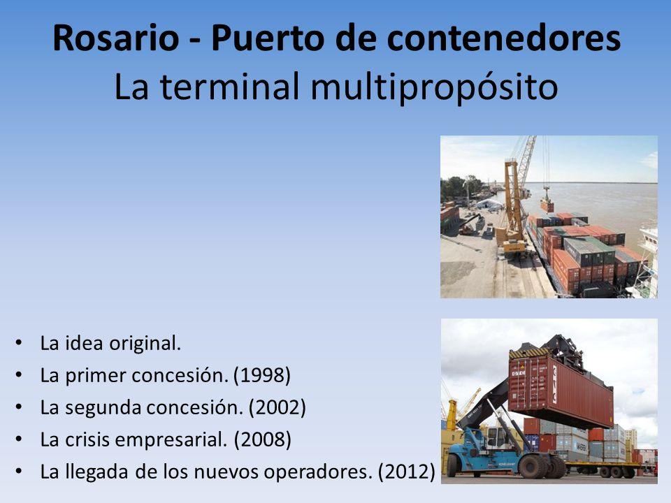 Rosario - Puerto de contenedores La terminal multipropósito