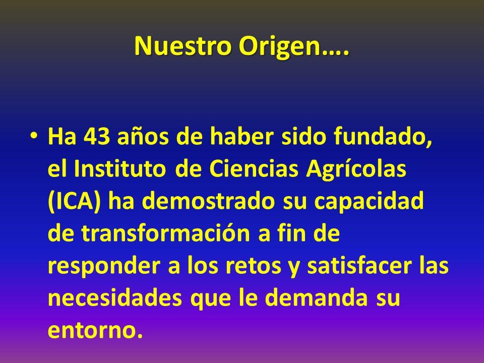 Nuestro Origen….