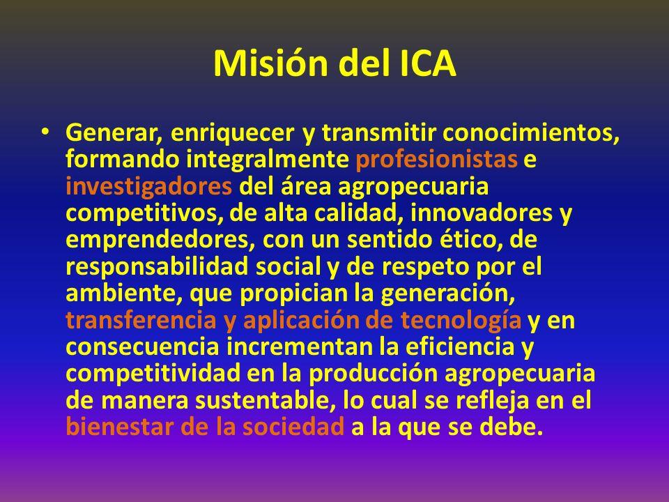Misión del ICA