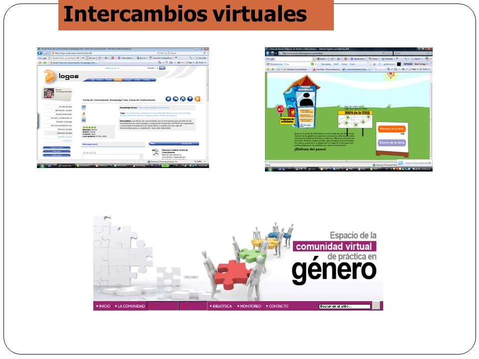 Intercambios virtuales
