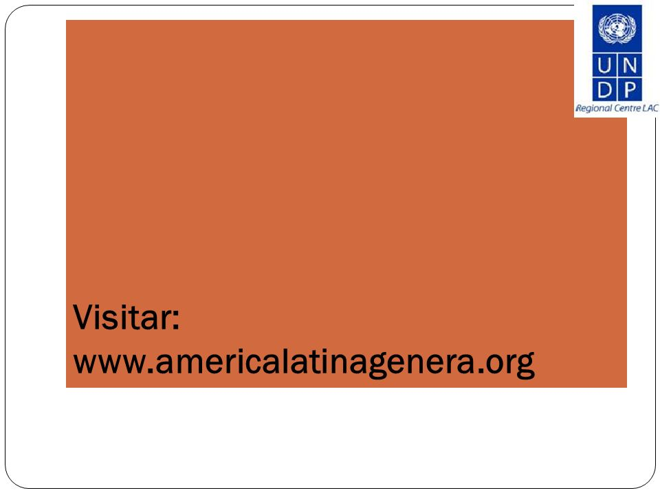 Visitar: www.americalatinagenera.org