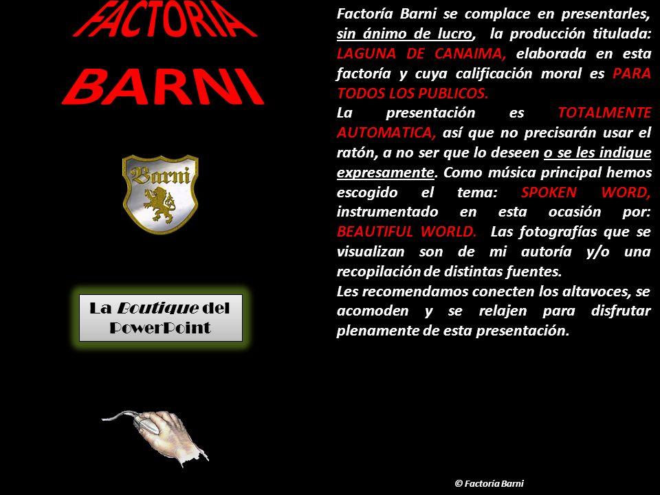 FACTORIA BARNI.