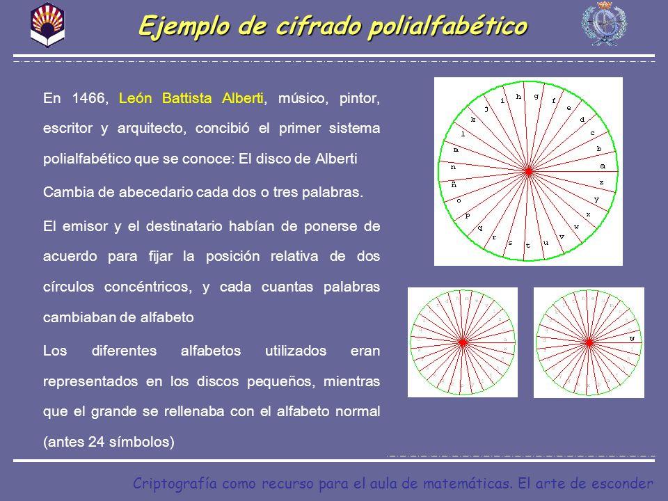 Ejemplo de cifrado polialfabético