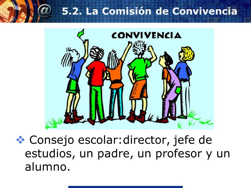 5.2. La Comisión de Convivencia