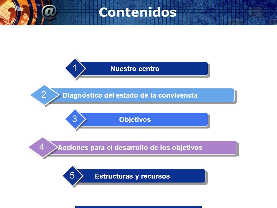 Contenidos 1 2 3 4 5 Nuestro centro