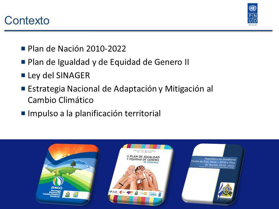 Contexto Plan de Nación 2010-2022