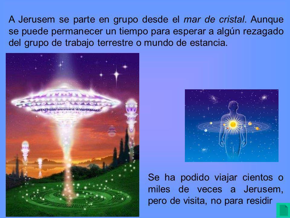 A Jerusem se parte en grupo desde el mar de cristal