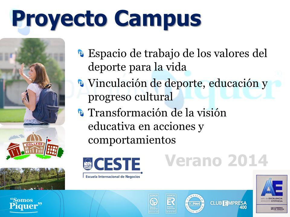 Proyecto Campus Verano 2014